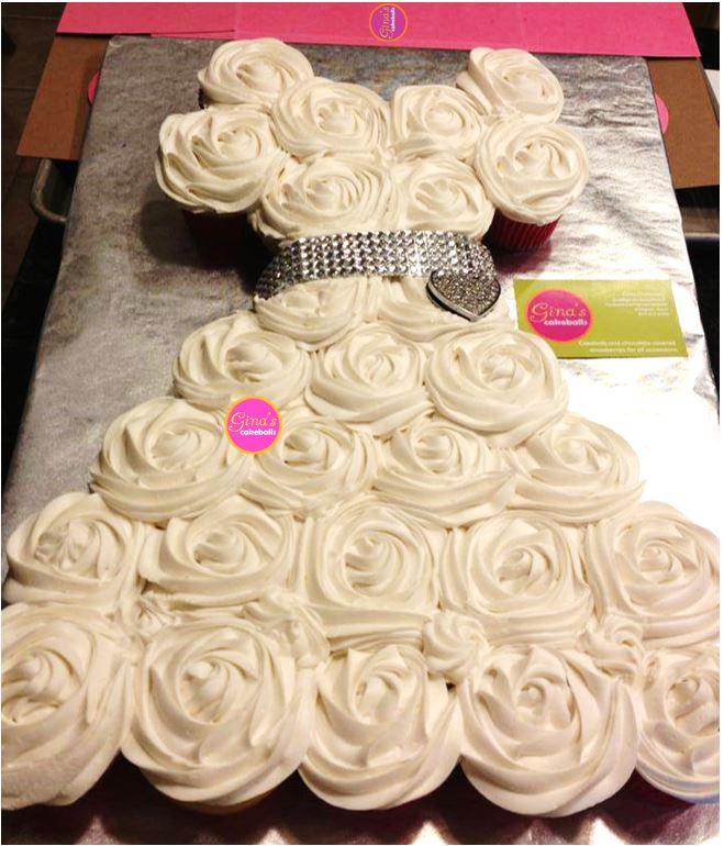 Price guide gina 39 s cakeballs for Wedding dress cupcake cake